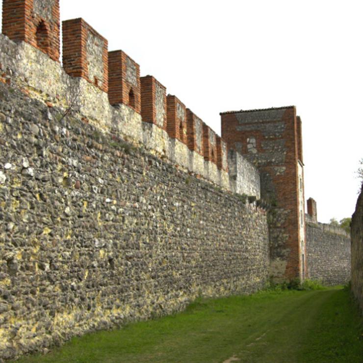 Itinerari storici – le mura comunali e scaligere