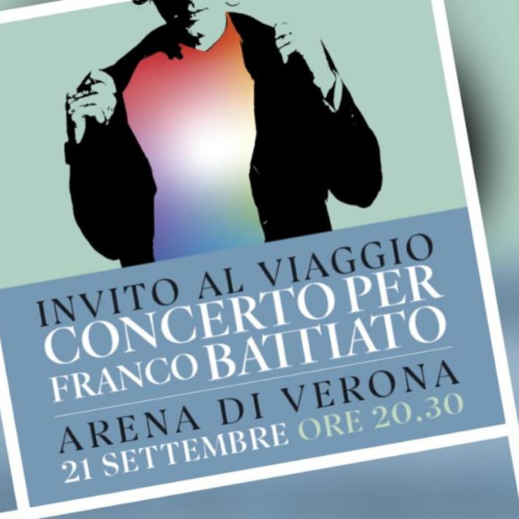 Invito al Viaggio – Concerto per Franco Battiato – Arena di Verona
