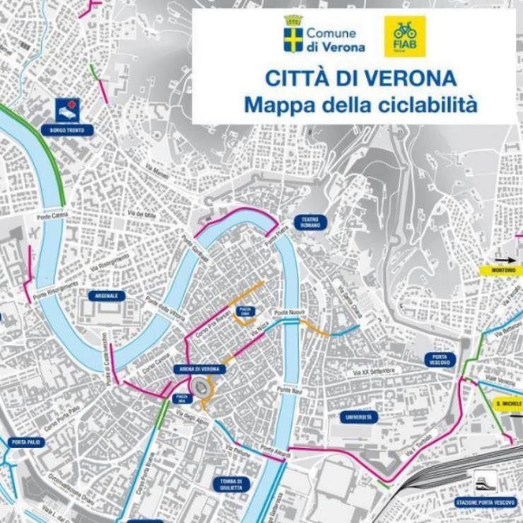 Verona in bicicletta
